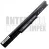 HP 695192-001 2200 mAh 4 cella fekete notebook/laptop akku/akkumulátor utángyártott