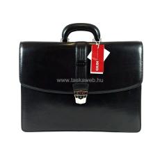Giudi fekete bőr aktatáska G5733V