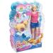 Mattel Barbie Pancsoló Kutyus szett