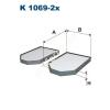 Filtron K1069-2x Filtron pollenszűrő