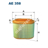 Filtron AE358 Filtron levegőszűrő