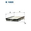 Filtron K1005 Filtron pollenszűrő