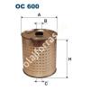 Filtron OC600 Filron olajszűrő