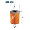 Filtron OM652 Filron olajszűrő