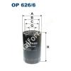 Filtron OP626/6 Filron olajszűrő