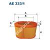 Filtron AE333/1 Filtron levegőszűrő