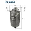 Filtron PP839/7 Filtron üzemanyagszűrő