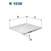 Filtron K1038 Filtron pollenszűrő