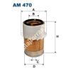Filtron AM470 Filtron levegőszűrő