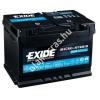 EXIDE AGM EK800 80Ah jobb+