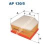 Filtron AP130/5 Filtron levegőszűrő