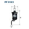 Filtron PP918/3 Filtron üzemanyagszűrő