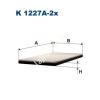 Filtron K1227A-2x Filtron pollenszűrő