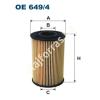 Filtron OE649/4 Filron olajszűrő