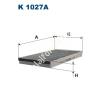 Filtron K1027a Filtron pollenszűrő