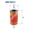 Filtron OM523/1 Filron olajszűrő
