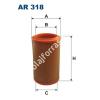 Filtron AR318 Filtron levegőszűrő