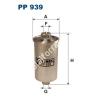 Filtron PP939 Filtron üzemanyagszűrő