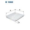 Filtron K1060 Filtron pollenszűrő