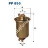 Filtron PP896 Filtron üzemanyagszűrő