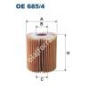 Filtron OE685/4 Filron olajszűrő