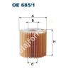 Filtron OE685/1 Filron olajszűrő