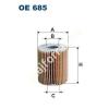 Filtron OE685 Filron olajszűrő