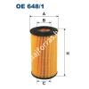 Filtron OE648/1 Filron olajszűrő