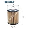 Filtron OE648/7 Filron olajszűrő