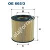 Filtron OE665/3 Filron olajszűrő