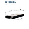 Filtron K1208-2x Filtron pollenszűrő