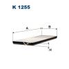 Filtron K1255 Filtron pollenszűrő
