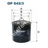 Filtron OP642/3 Filron olajszűrő