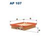 Filtron AP107 Filtron levegőszűrő levegőszűrő