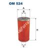 Filtron OM524 Filron olajszűrő