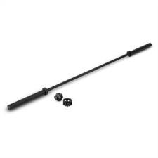 KLARFIT Klarbar súlyzórúd, 220 cm, gyorszárak, 20 kg súlyzórúd