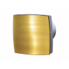 Vents Hungary Vents 125 LDATH Zárt előlappal szerelt dekor ventilátor (arany) Páraérzékelővel és Időkapcsolóval