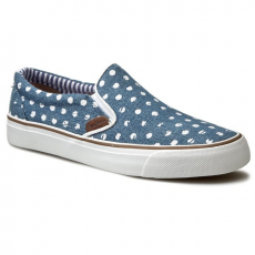 Pepe Jeans Teniszcipők PEPE JEANS - Alford Denim Dots PLS30328 Washed Navy 576