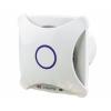 Vents Hungary Vents 100 XTH Modern Külsejű Dekoratív Ventilátor (fehér) Páraérzékelővel és Időkapcsolóval