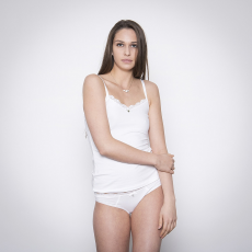 Skiny Cotton Beauty Női Spagettipántos trikó