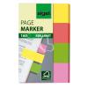 """SIGEL Jelölőcímke, papír, 4x40 lap, 20x50 mm, SIGEL """"Multicolor Mini"""", vegyes szín"""
