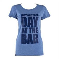 Capital Sports női edző póló, M méret, kék tricolor
