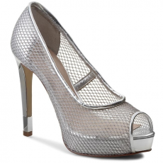 Guess Tűsarkú GUESS - Hadiey FLHDY1 FAB07 SILVE