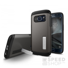 Spigen SGP Slim Armor Samsung Galaxy S7 Gunmetal hátlap tok tok és táska