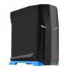 Silverstone SST-RVX01BA-W Raven Midi-Tower - fekete / kék ablakos
