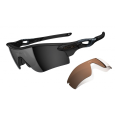 Oakley napszemüveg Radarlock Path Polished Black/ Black Iridium Polarized