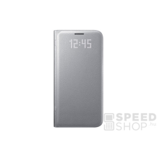 Samsung Galaxy S7 gyári LED View flip tok, ezüst, EF-NG930PS, (SM-G930) tok és táska