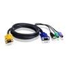 ATEN Console kábel (3m, PS/2-USB)