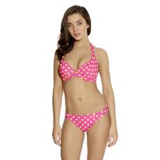 BON BON merevítős kötős bikini felső