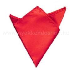 Krawat Zsorzsett szatén díszzsebkendõ - Piros